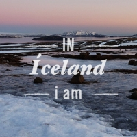 IN ICELAND i am...