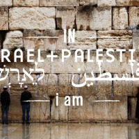 IN ISRAEL + PALESTINE i am...