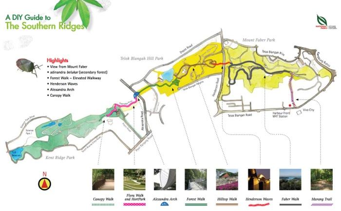 southern-ridges-marang-trail-map