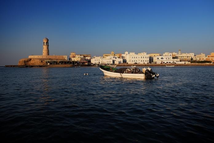itwia_Le port de Sur à marée haute