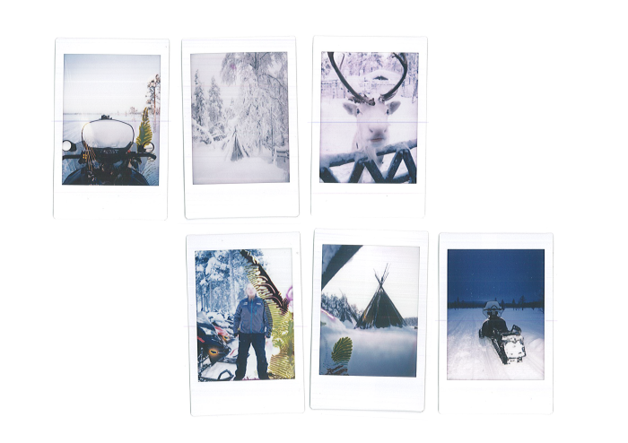 Polaroid Snowmobile