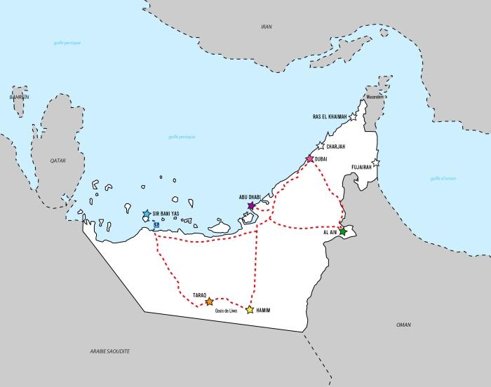 E.A.U. map